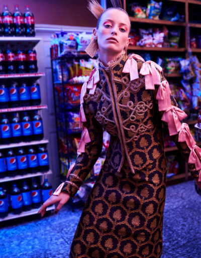 L'Officiel Singapore Michael Paniccia Grocery Store Fashion Editorial